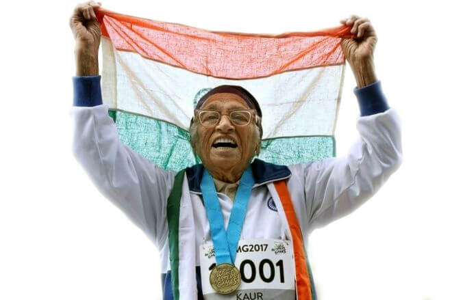 Veteran Athlete Maan Kaur Lefts For Heaven at the age on 105